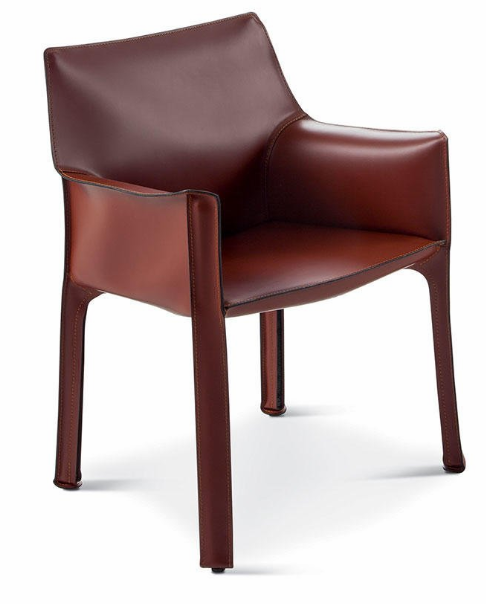 413 cab chair russian red