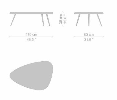 527 mexique low table dims