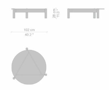 535 table a plateau interchangeable dims 01