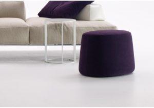 B&B Italia-italia-oval-pouf-High end furniture -Italian